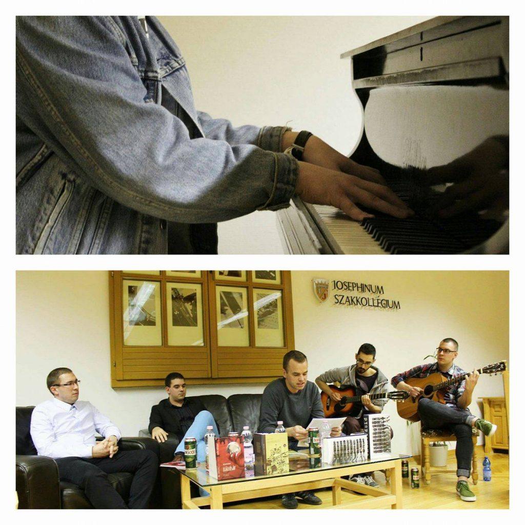 Versek gitárhúrokon és zongorabillentyűkön
