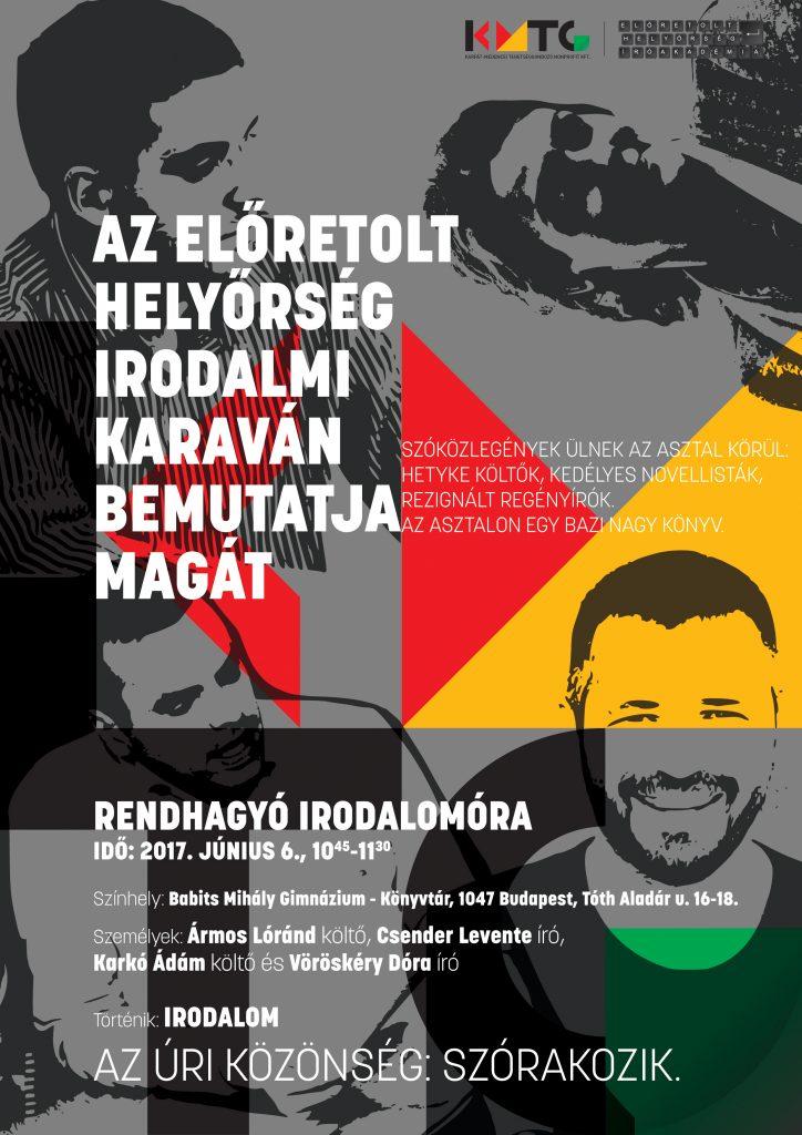 Karaván – Rendhagyó Irodalomóra a Babits Mihály Gimnáziumban