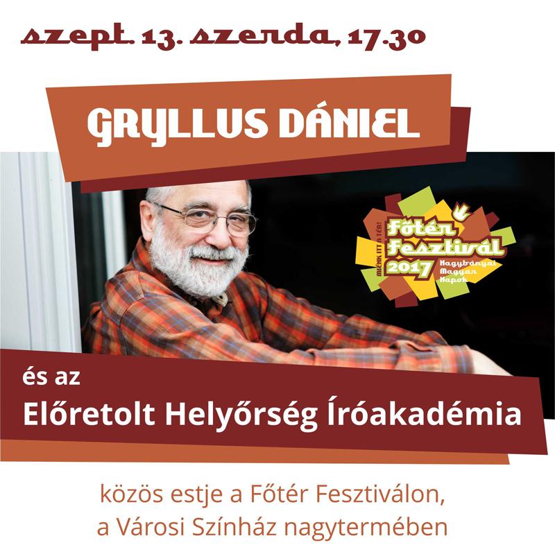 Közös est Gryllus Dániellel