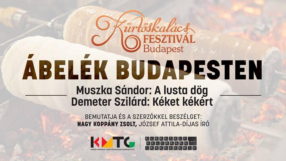 Ábelék Budapesten, a Kürtőskalács Fesztiválon