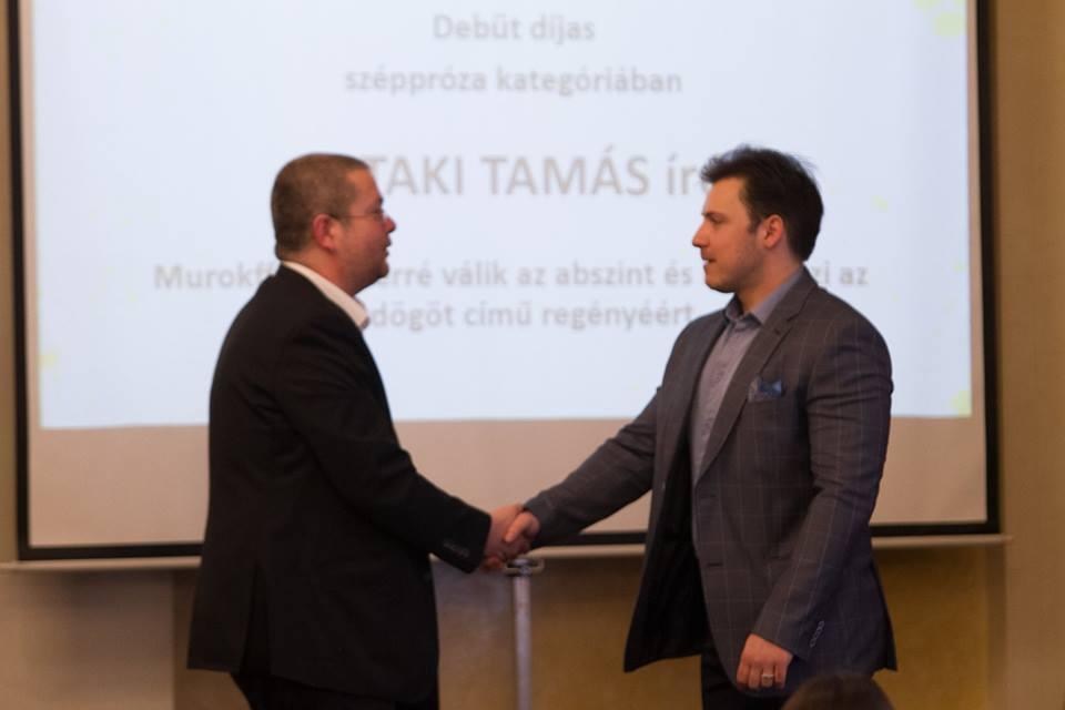 A Magyar Írószövetség Debüt díjában részesült az Íróakadémia hallgatója