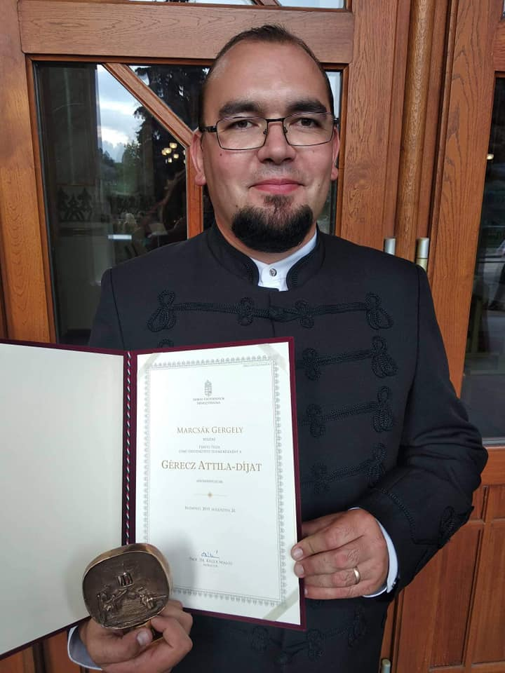 Marcsák Gergely az idei Gérecz Attila-díj nyertese